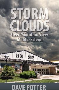 Storm Clouds Over Mountain View Middle School