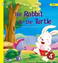 精選世界童話:龜兔賽跑 = The rabbit & the turtle [有聲書]