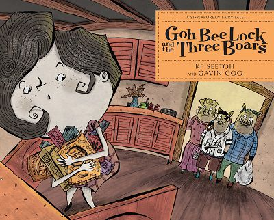 Goh Bee Lock and the three boars:a Singaporean fairy tale