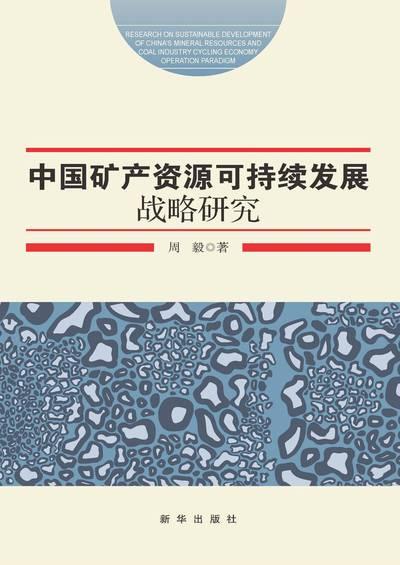 中國礦產資源可持續發展戰略研究