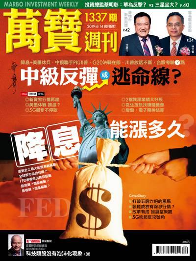 萬寶週刊 2019/06/14 [第1337期]:中級反彈或逃命線?