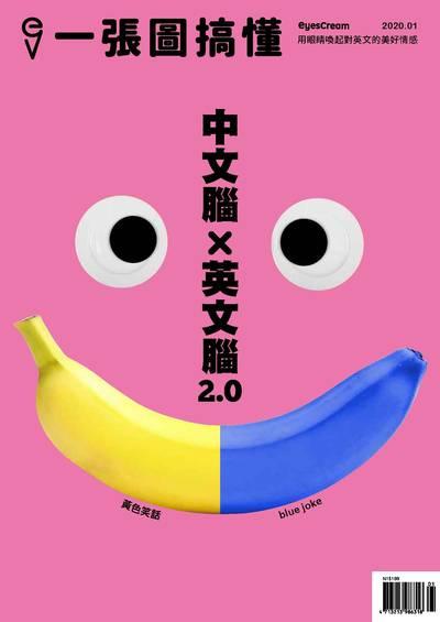 一張圖搞懂 [2020年1月號]:中文腦x英文腦2.0