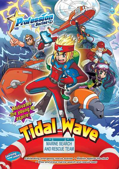 Tidal wave:marine search and rescue team