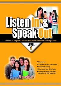 Listen in & speak out [有聲書]. level 1