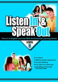 Listen in & speak out [有聲書]. level 3