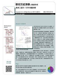 蔡明芳經濟學之高普特考:高考三級95-100年考題詳解