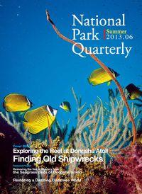 National Park Quarterly 2013.06 (Summer):Fingding Old Shipwrecks: Exploring the Reef at Dongsha Atoll
