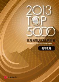 臺灣地區大型企業排名TOP5000. 2013, 綜合篇