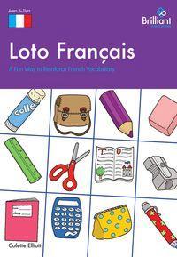 Loto Français:a fun way to reinforce French vocabulary