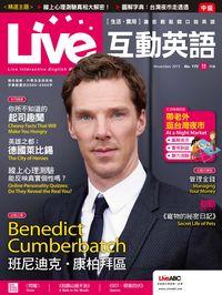 Live互動英語 [第175期] [有聲書]:Benedict Cumberbatch 班尼迪克.康柏拜區