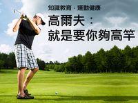 高爾夫:就是要你夠高竿