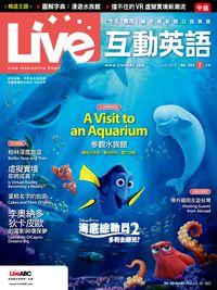 Live互動英語 [第183期] [有聲書]:海底總動員2 多莉去哪兒?